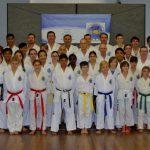 Belt grading for Taekwondo students
