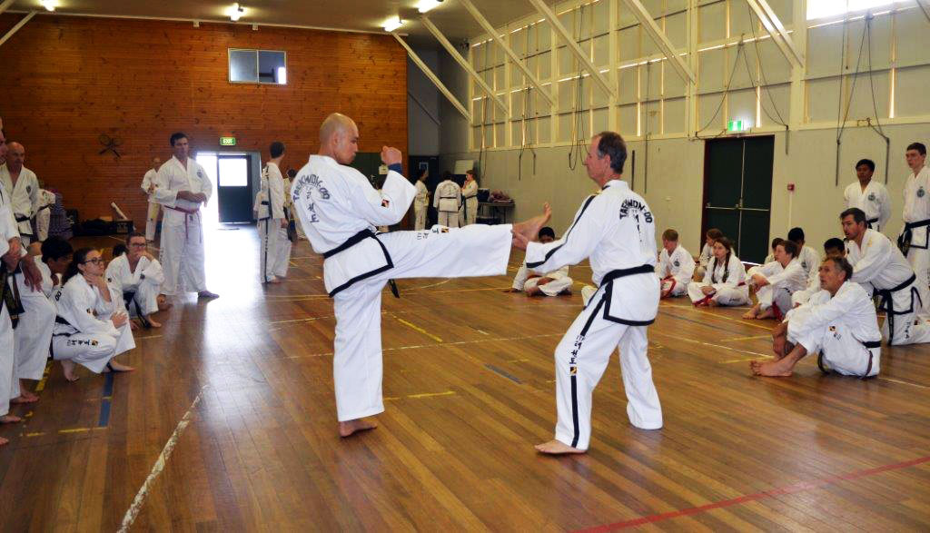 Front Kick Self Defense